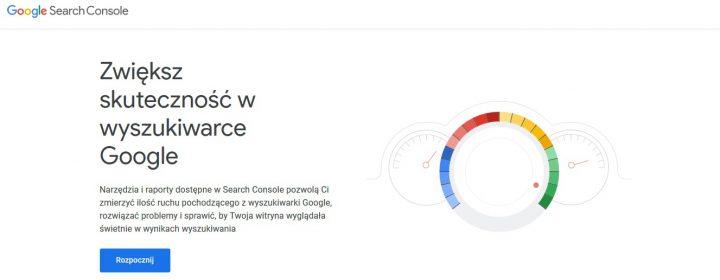 Google Search Console – darmowe narzędzie do optymalizacji strony.