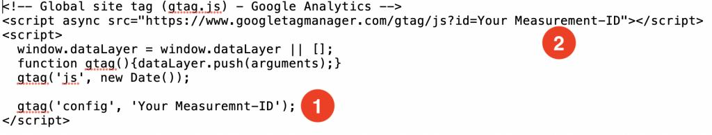 gtag Google Analytics 4