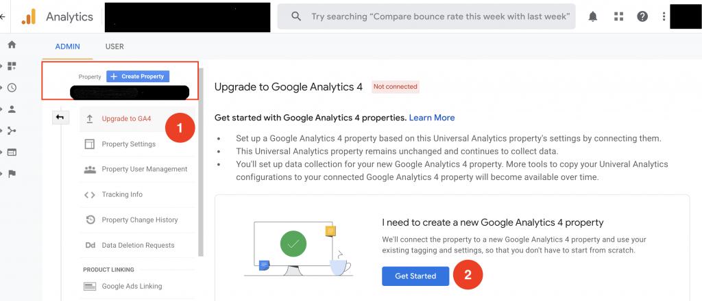 update google analitycs 4